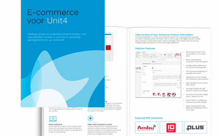 E-commerce voor Unit4