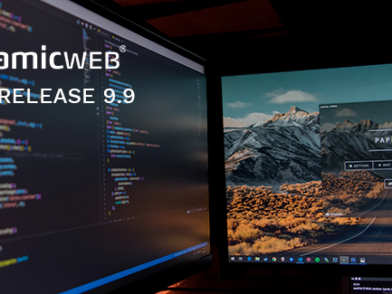 Release: Dynamicweb 9.9